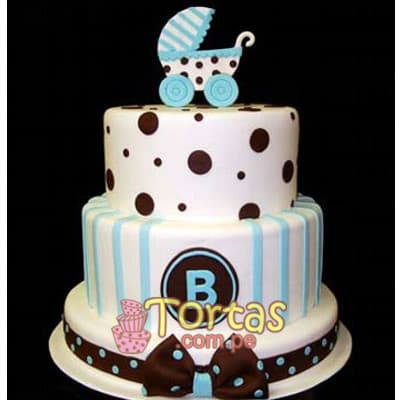 Tortas para Baby Shower | Torta Recien nacido - Whatsapp: 980-660044