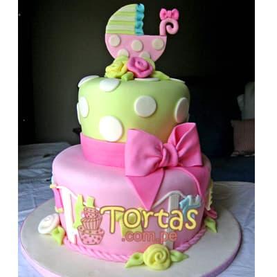 Tortas Para bebes | Torta para bebito - Cod:BBT05