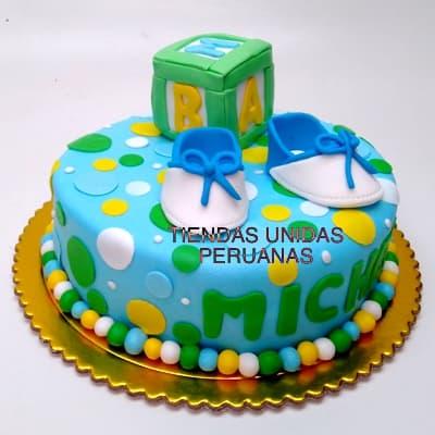 Tortas de Bebes | Torta Nueva mama y bebe - Cod:BBT09
