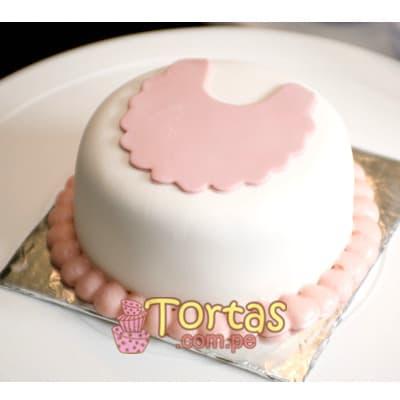 Tortas para un Mes de Nacido | Torta para baby - Cod:BBT11