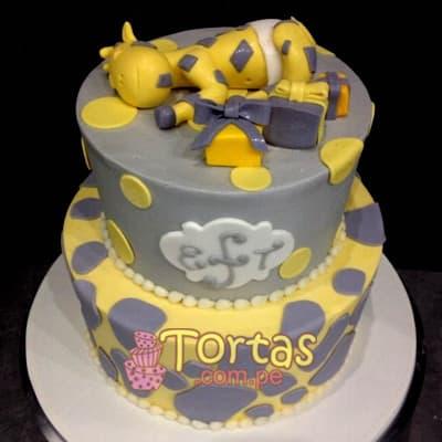 Tortas de Bebes | Torta para recien nacido - Cod:BBT15