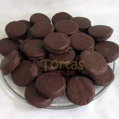 Alfajores Delivery | Alfajores de Chocolate | Alfajores a Domicilio - Cod:BDT01