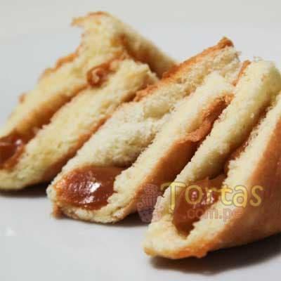 Bocaditos Dulces | Dulces y Bocaditos | Pañuelitos de Manjar x 100 - Cod:BDT34