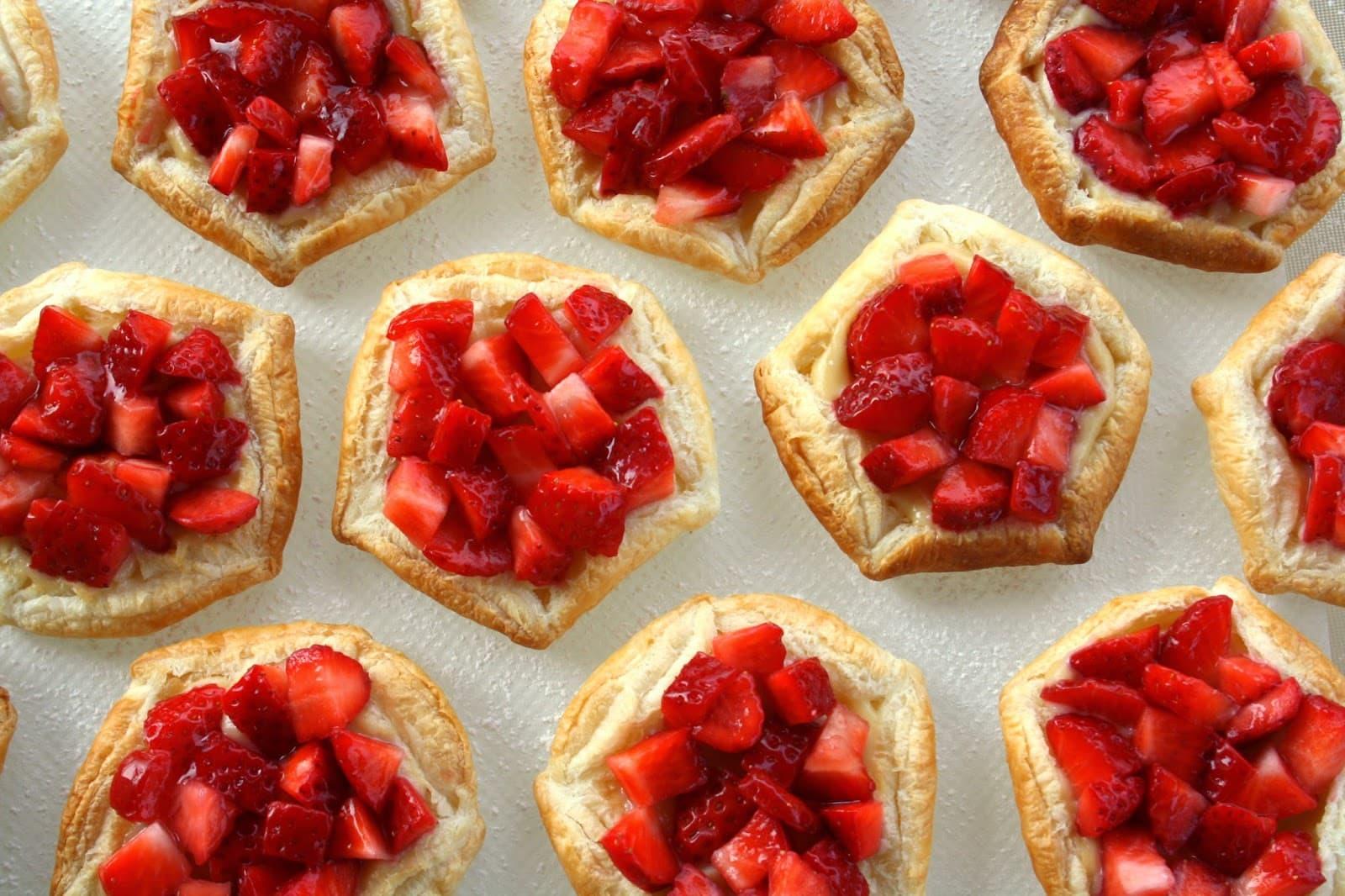 Bocaditos Dulces | Dulces y Bocaditos | Tartaleta de Fresa x 100 - Cod:BDT48