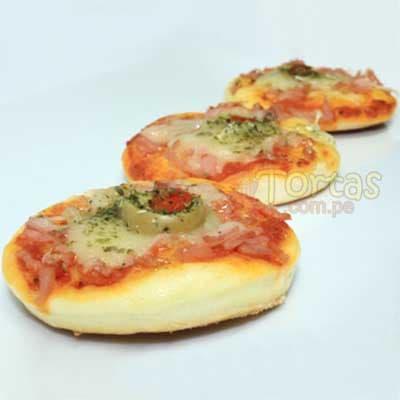 Bocaditos Salados | Bocaditos Dulces y Salados | Pizzitas x 50 - Cod:BDU13