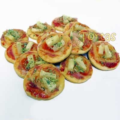 Bocaditos Salados | Bocaditos Dulces y Salados | Pizzitas x 100 - Cod:BDU14