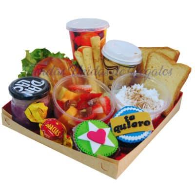 lafrutita.com- Desayuno para dama - Fresas con chocolate a domicilio y Arreglos Frutales - Whatsapp: 980660044