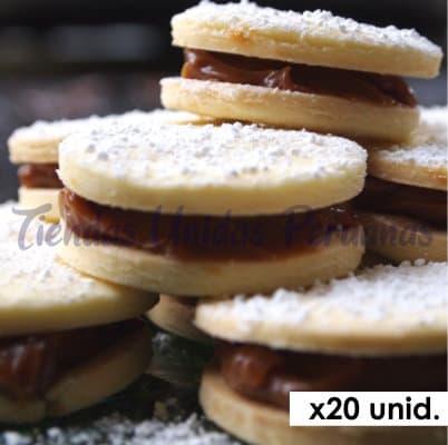 Alfajores Gourmet x 20 - Cod:BIP06