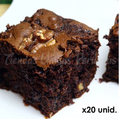 Brownies x 20 - Whatsapp: 980-660044