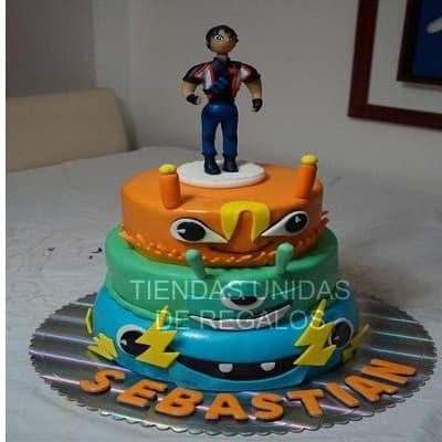 Tortas Infantiles para niños | Torta Bajo Terra | torta de tematica bajoterra - Cod:BJT04