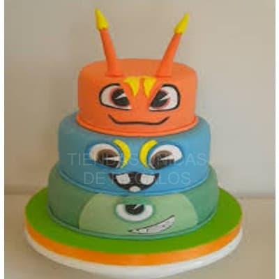 Tortas Infantiles para niños | Torta Bajo Terra | torta de tema bajoterra - Cod:BJT05