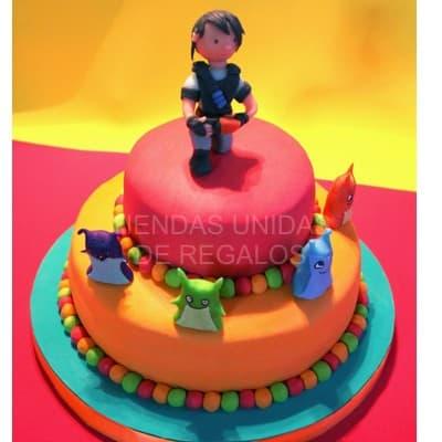 torta con tema bajoterra - Cod:BJT07