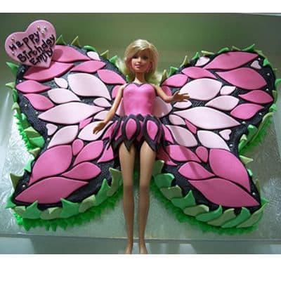 Desayunosperu.com - Torta Barbie 10 - Codigo:BRE10 - Detalles: Deliciosa torta de keke De Vainilla  , ba�ada con manjar blanco y forrada con masa elastica con medidas de 20 x 30 cm modelado seg�n la imagen, incluye barbie referencial - - Para mayores informes llamenos al Telf: 225-5120 o 476-0753.