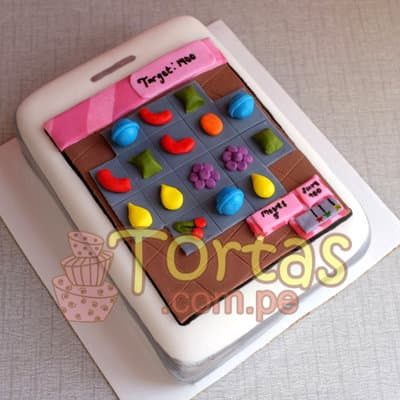 Torta Candy Crush 02 - Whatsapp: 980-660044