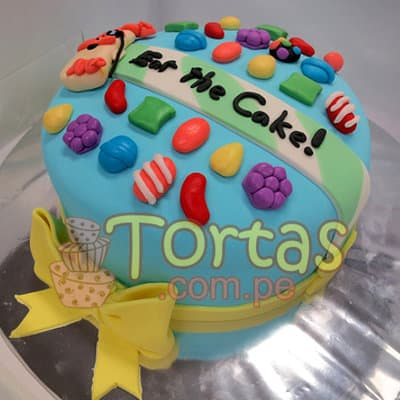 Torta Candy Crush 05 | Torta de Candy Crush | Pastel de dulces - Cod:CCS05