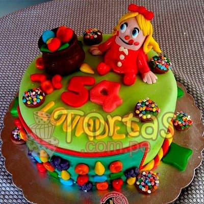 Torta Candy Crus 06 | Torta de Candy Crush | Pastel de dulces - Cod:CCS06