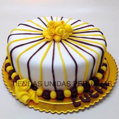 Torta de Aniversario | Tortas a Peru | Tortas Lima - Cod:CCZ06