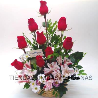 Arreglo con Rosas Delivery | Arreglo de Rosas Limaº - Whatsapp: 980-660044