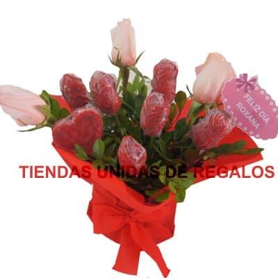 Flores de chocolates 05 - Cod:CHF05