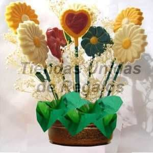 Flores de chocolate Delivery - Cod:CHF06