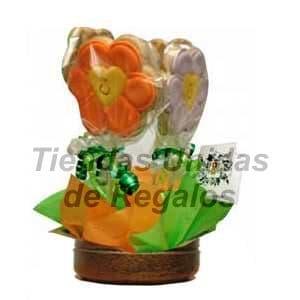 Flores de chocolates 07 - Cod:CHF07