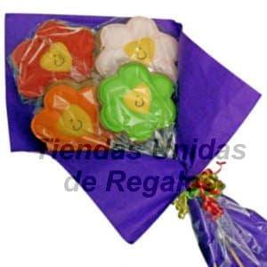 Cesta con Flores de Chocolate | Regalos Delivery - Cod:CHF09