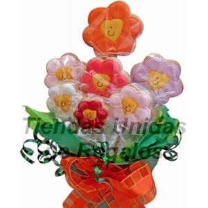 Flores de chocolates 11 - Cod:CHF11