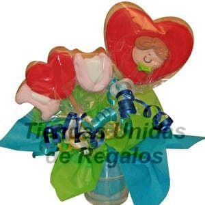 Flores de chocolates 12 - Cod:CHF12