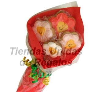 Flores de chocolates 14 - Cod:CHF14