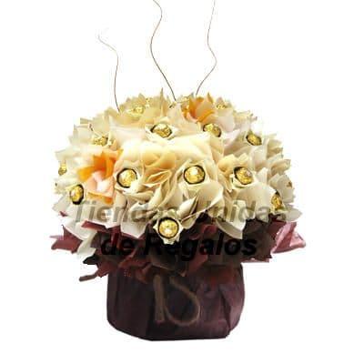 Flores de Chocolate 16 - Cod:CHF16
