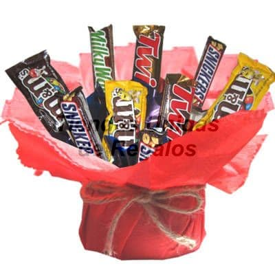Bouquet de Chocolates Importados | Chocolate Delivery - Cod:CHF18