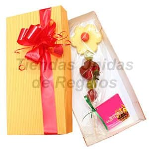 Delivery de Chocolates Para Regalar | Flores de Chocolate en Caja - Cod:CHJ04