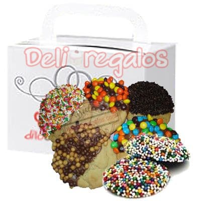 Delivery de Chocolates Para Regalar | Galletas con Chocolate a Domicilio - Cod:CHJ08
