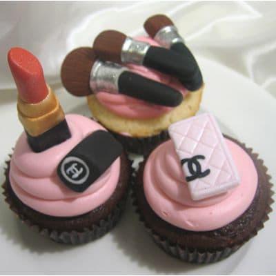 Chanel fondant cake | Torta para chicas |  Pastel de Chanel | Torta de Chanel - Cod:CHL02