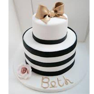Chanel fondant cake | Torta para chicas |  Pastel de Chanel | Pastel Tematica Chanel - Cod:CHL18