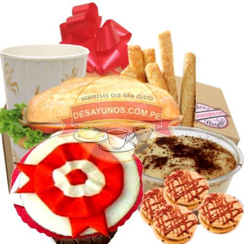 Diloconrosas.com - Especial Peru 06 - Codigo:CJP06 - Detalles: Delicioso pack que contiene: Jugo de Frutas, s�ndwich de lomito ahumado, delicioso postre de tres leches, pack de galletas de chispas de chocolate, 4 palitos de queso especial. Delicioso muffin de vainilla con decorado especial en masa el�stica con la escarapela peruana, servilleta y tarjeta de dedicatoria.  - - Para mayores informes llamenos al Telf: 225-5120 o 476-0753.