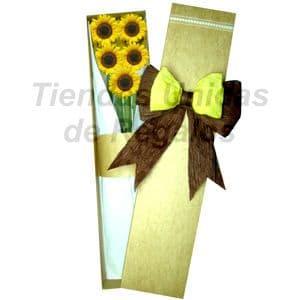 Caja de Girasoles | Florerias Unidas - Cod:CJS01
