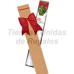 Cajas de Rosas Rojas Para Enamorar | Florería | Caja de Rosas - Cod:CJS02