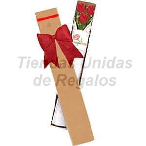 Cajas de Rosas Rojas Para Enamorar | Florería | Caja de 3 Rosas  - Cod:CJS03