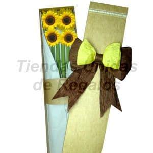 Caja de Girasoles | Girasoles Delivery - Cod:CJS04