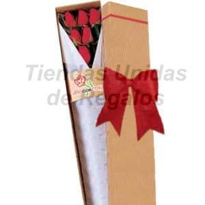 Cajas de Rosas Rojas Para Enamorar | Florería | Caja de Rosas - Cod:CJS06