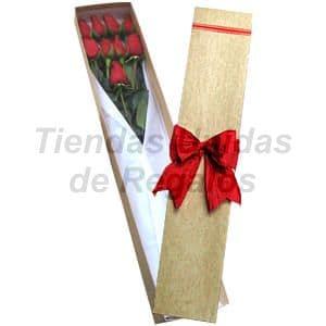Cajas de Rosas Rojas Para Enamorar | Florería | Caja de Rosas 09 - Cod:CJS09