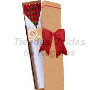 Caja de Rosas 24 - Cod:CJS24