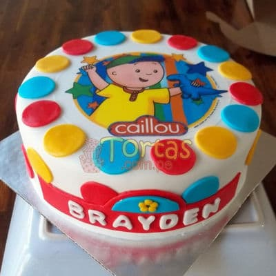 Pastel Caillou | Torta caillou  - Whatsapp: 980-660044