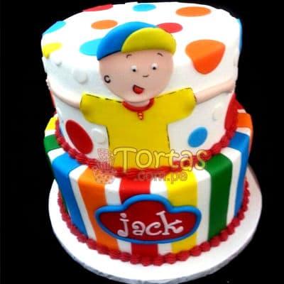 Torta de Caillou | Torta caillou  - Cod:CLL09
