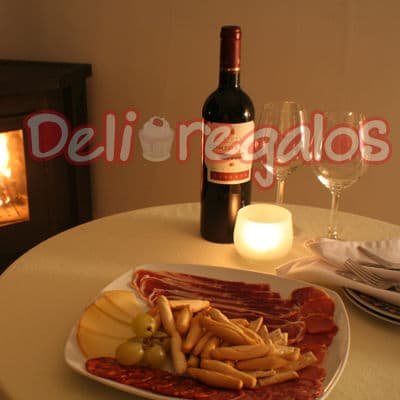 Delivery de Comida | Picada romantica - Cod:CMD17