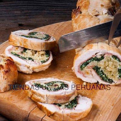 Enrollado con Verduras | Cenas Navideñas | Delivery Navidad - Cod:CNC10