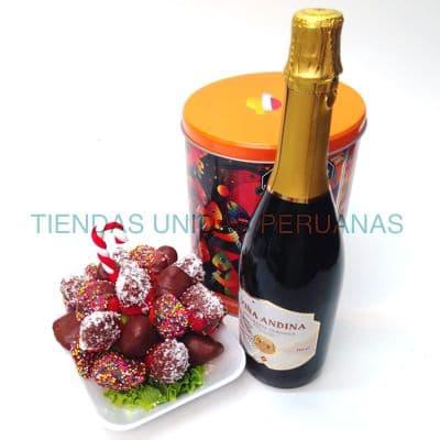 Frutero Navideño y Espumante  - Cod:CNC11