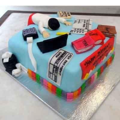 Torta para Contador | Torta de Contador Accounter Cake - Cod:CND01