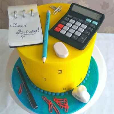 Torta de Contador | Torta de Contador Accounter Cake - Cod:CND02